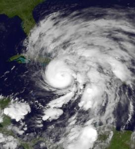 photo of hurricane sandy