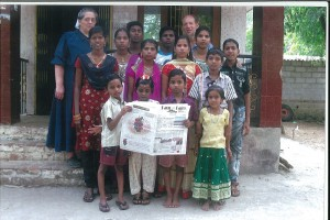 Ray and Ada Miller, of Uniontown, Ohio, recently traveled to Tamil Nadu, India, to visit the orphan children they support. The Miller's visited from Feb. 21 through March 10. Although the children enjoyed looking through the Farm and Dairy, they had a little trouble reading it, being that they speak Tamil, not English!