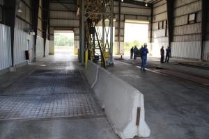 Ethanol unloading