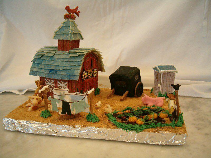 Amish Farm Scene
