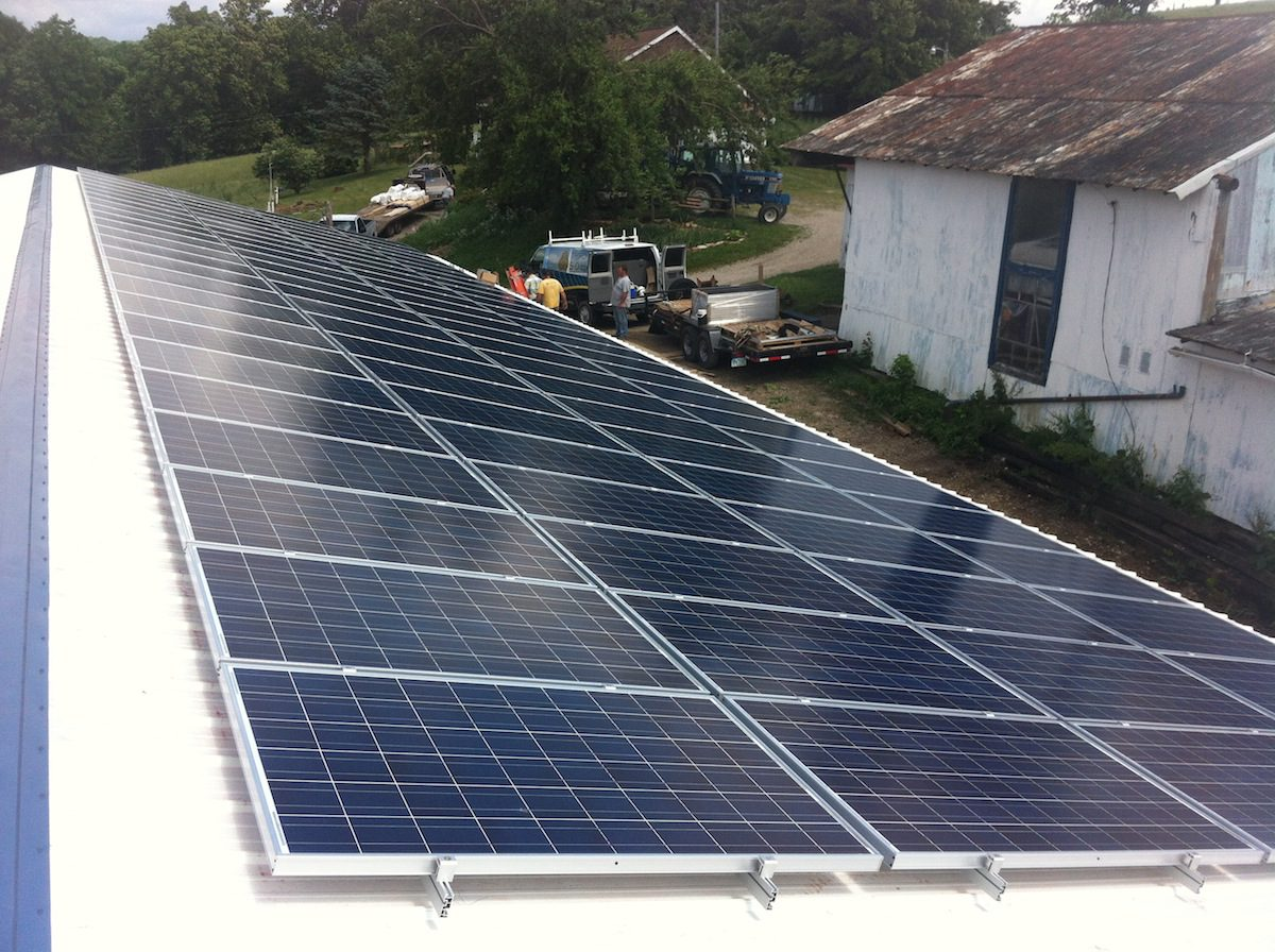 Out Of Sight Out Of Mind Solar Power Makes Sense On Some