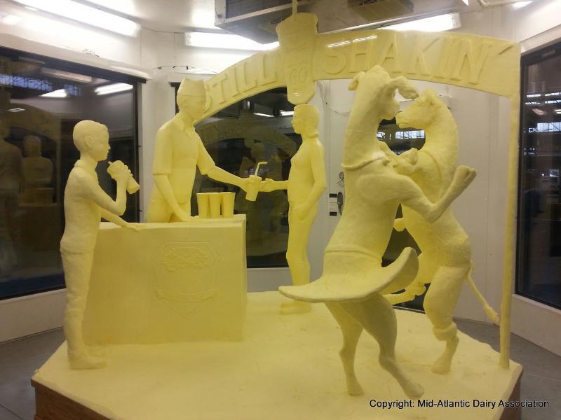 2014 Pa. Farm Show Sculpture
