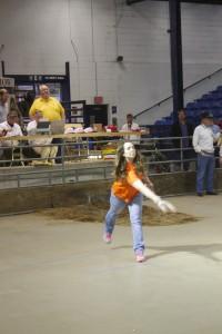 horseshoe competition:Emily Hatrick