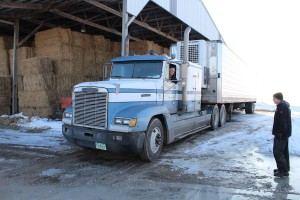 Gahler hay truck