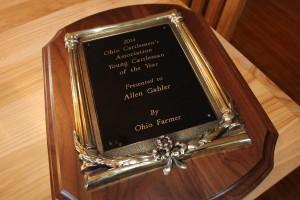OCA award, Allen Gahler