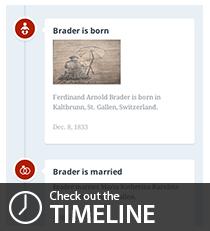 Brader timeline
