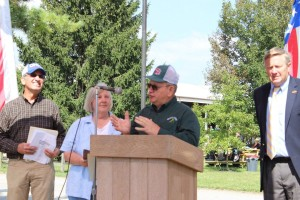 Regional conservation award winners Gerald and Cheryl Whipple, Ottawa County
