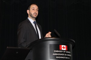 Canadian Ambassador discussing COOL.