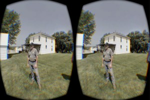 View with Oculus Rift