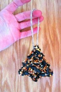 seed cake ornament