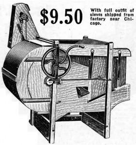 Gem fanning mill
