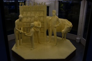 Pa. Farm Show butter sculpture