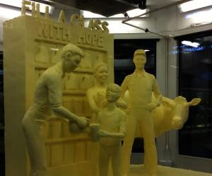 farm show butter sculpture