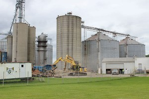 Coshocton Grain co. construction
