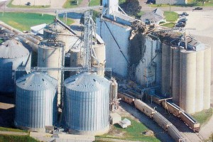 Coshocton Grain Co. damage