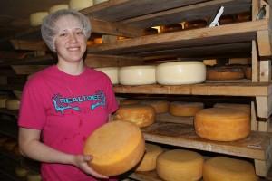 Kate Herring, farm employee.
